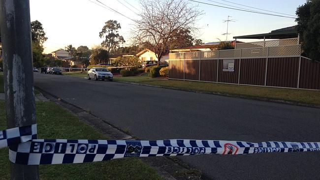 الشرطة في كوليتن.المصدر:نيوز كورب استراليا