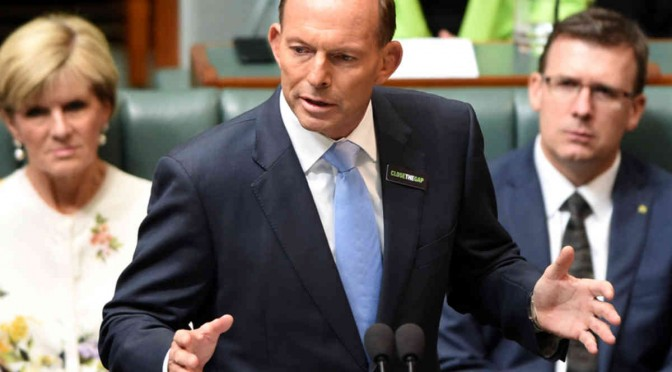 TONY ABBOTT CLOSING THE GAP ADDRESS