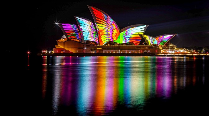 Vivid Sydney 2018. Source: Facebook